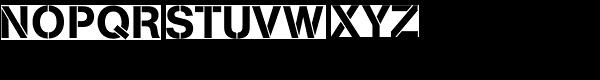 Ag Book Stencil Bq-medium Font