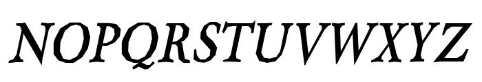 Berylium Bold Italic Font UPPERCASE