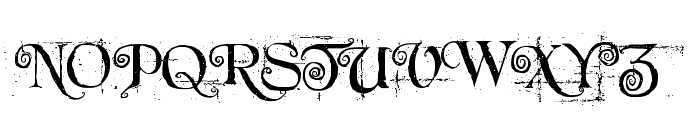Beyond Wonderland Font UPPERCASE