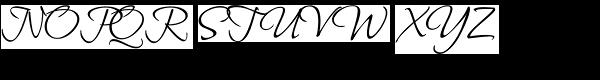 Bilbo ROB Font UPPERCASE