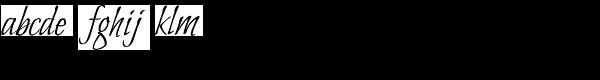 Bilbo ROB Font LOWERCASE
