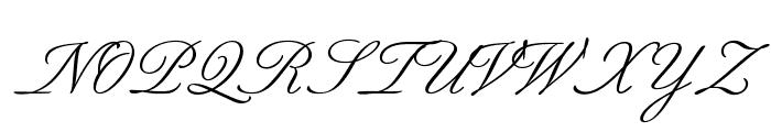 BilletScriptOpti Font UPPERCASE