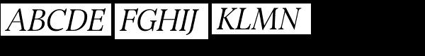 Bingley Italic Font UPPERCASE