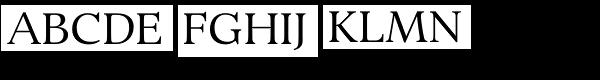 Bingley Font UPPERCASE
