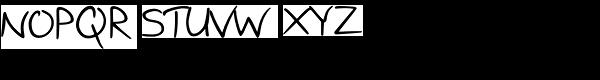 Birch Font UPPERCASE