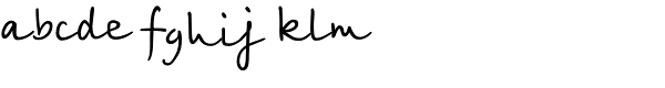 Birch Font LOWERCASE