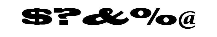 Blackoak Std Font OTHER CHARS