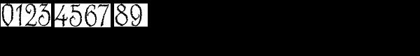 Blackstone Font OTHER CHARS