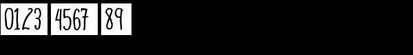 Blue Goblet Drawn Condensed Regular Font OTHER CHARS