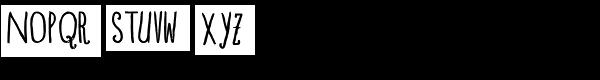 Blue Goblet Drawn Condensed Regular Font UPPERCASE