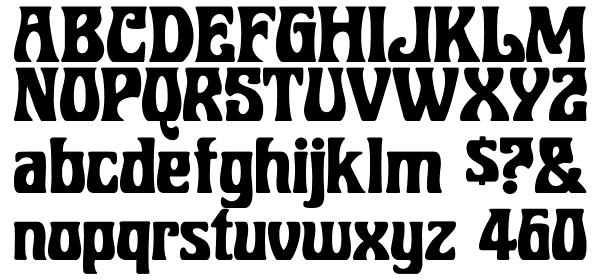 BobbiTheHippie free Font