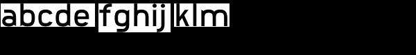 Bodacious Font LOWERCASE