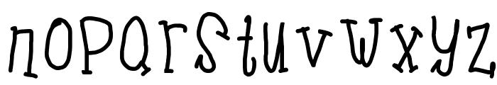 Bolden Font LOWERCASE