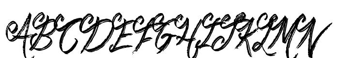 Booday Font UPPERCASE
