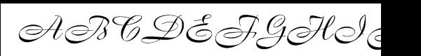 Boulevard Font UPPERCASE