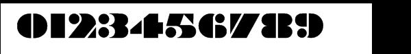 Braggadocio® Font OTHER CHARS