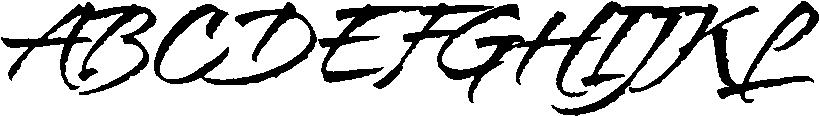 Bravissima Font UPPERCASE