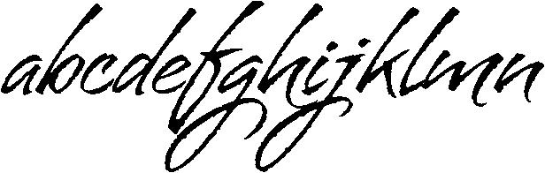 Bravissima Font LOWERCASE