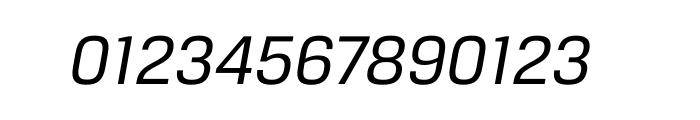Breuer Text Regular Italic Font OTHER CHARS