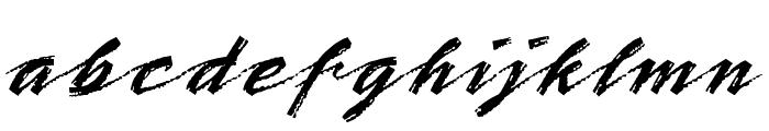 BronxLETPlain1 Font LOWERCASE