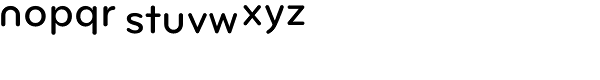 Bryant Pro Medium Alt Font LOWERCASE