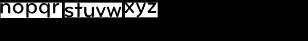 Bryant Pro Medium Font LOWERCASE
