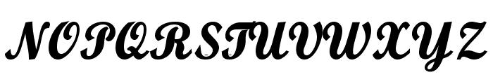 Buffalo Nickel Font UPPERCASE