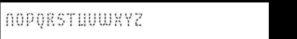 Buggy Font Regular Font UPPERCASE