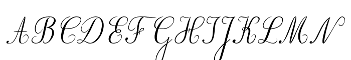 BV_Rondes2 ital Font UPPERCASE
