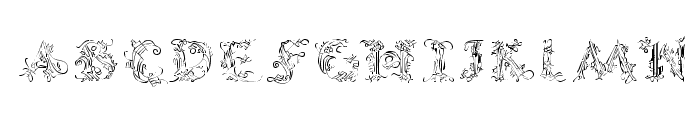 CalliPsoGrafia  Regular Font UPPERCASE