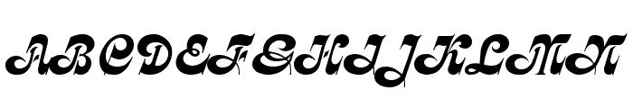 Calligraph  Medium Font UPPERCASE