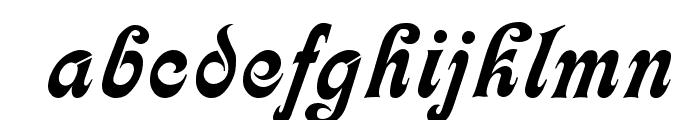 Calligraph  Medium Font LOWERCASE
