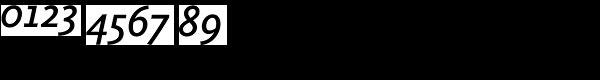 Calluna Sans Semibold Italic Font OTHER CHARS
