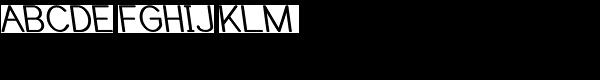 Caluminy Bold Left Font UPPERCASE
