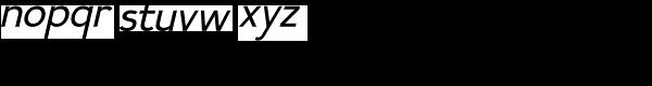 Calvin Italic Font LOWERCASE