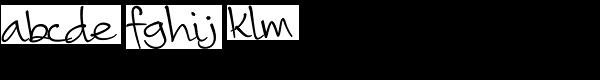 Camy Normal Medium Font LOWERCASE