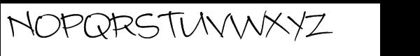 Camy Std Normal Medium Font UPPERCASE