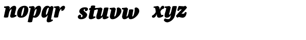 Canciller Black Font LOWERCASE