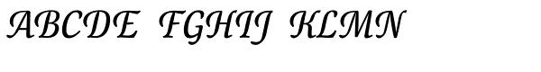 Canciller Font UPPERCASE