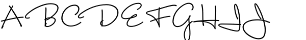 Capistrano BF Font UPPERCASE