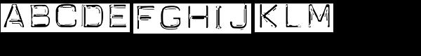 Carbon-14 Neo Lite Font UPPERCASE