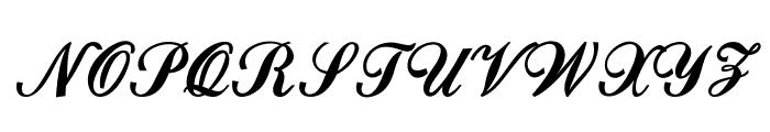 Cardihill-Bold Font UPPERCASE