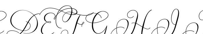 carolyna curvy font