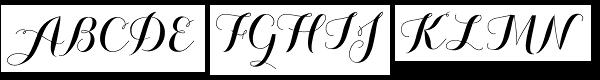 Carolyna Pro Black Font UPPERCASE