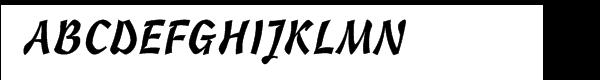 Cascade Script™ Font UPPERCASE