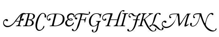 CaslonSwashSCapsSSK Italic Font UPPERCASE