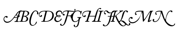 CaslonSwashSCapsSSK Italic Font LOWERCASE