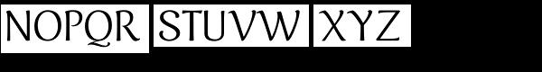 Caturrita Font UPPERCASE