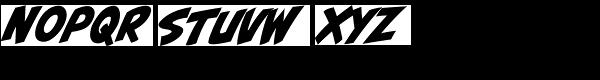 CCBiff Bam Boom Font LOWERCASE