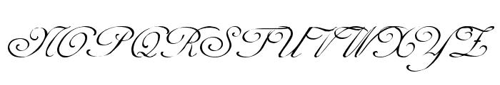 Celeste  Normal Font UPPERCASE